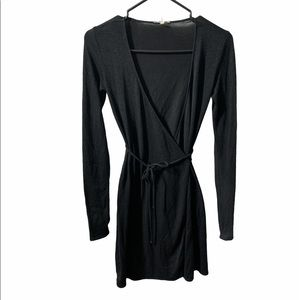 Wilfred Wrap Sweater Dress